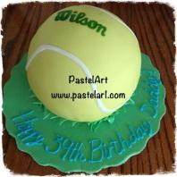 pelota de tennis 3D