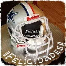 Casco football americano 3D