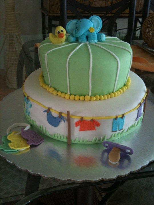 como hacer un pastel de pa ales para baby shower youtube
