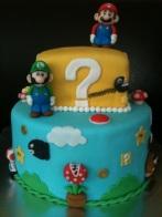 Mario Bros, Luigi, Toad, Mario, Super Mario, fondant, fiestas, infantiles,