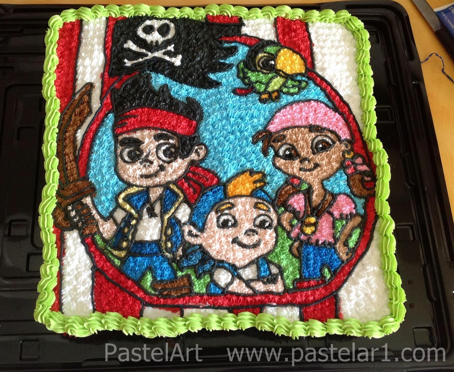 Jake y los piratas bet 250 n pastelart