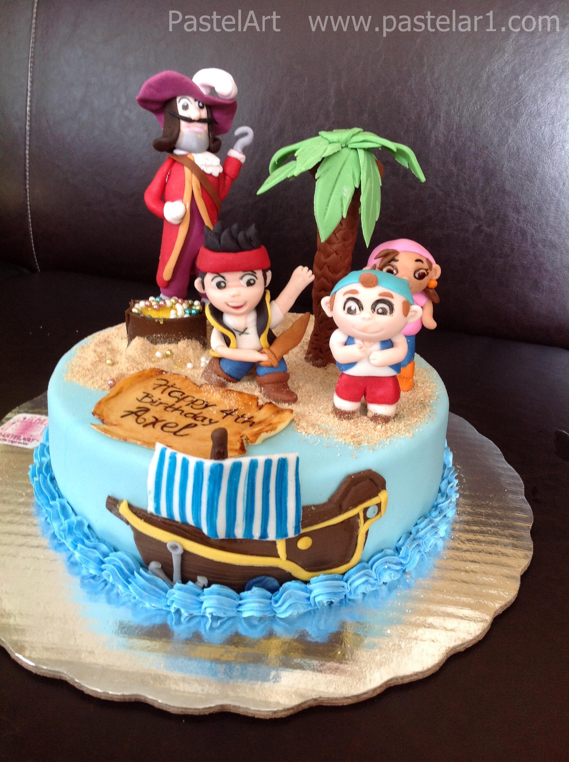 Jake el pirata pasteles imagui for Yei y los piratas de nunca jamas