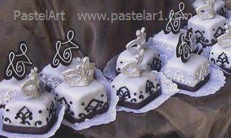 mini cakes antifaz